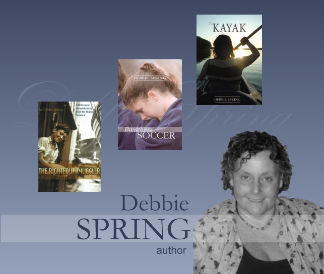 Click to enter the site of Debbie Spring, author